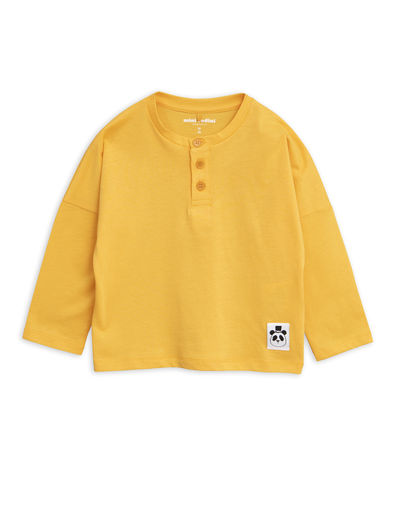 Mini Rodini - Solid cotton grandpa, Yellow