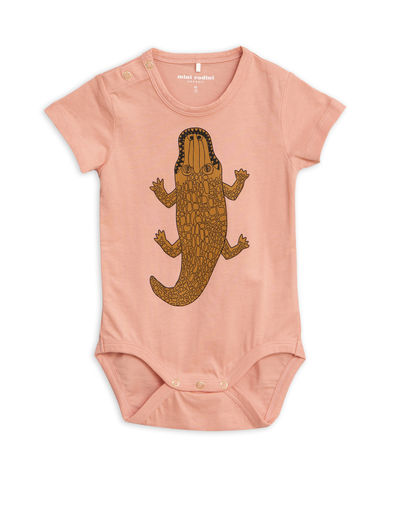 Mini Rodini - Crocco sp ss body, Pink