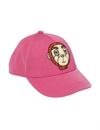 Mini Rodini - Monkey cap, Pink