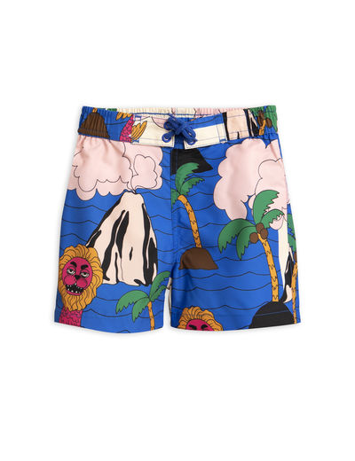 Mini Rodini - Seamonster swimshorts, Multi