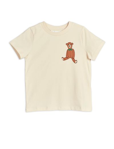 Mini Rodini - Teddy sp tee, Offwhite