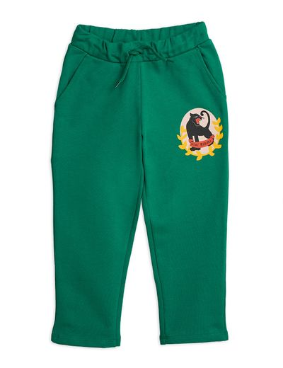 Mini Rodini - Badge sp sweatpants, Green