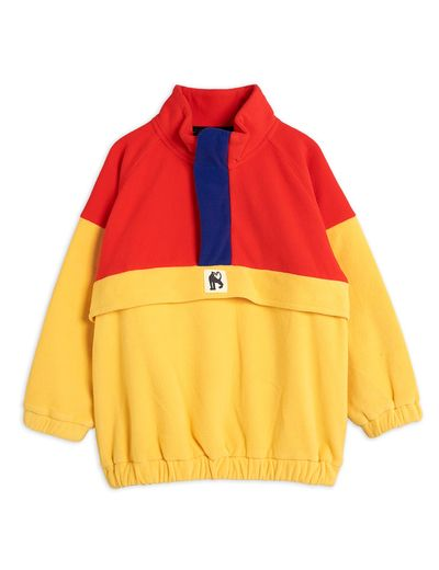 Mini Rodini - Fleece zip pullover, Red