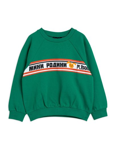 Mini Rodini - Moscow sweatshirt, Green