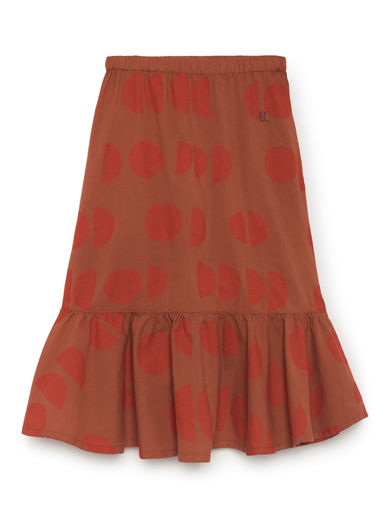 Bobo Choses - Moons Sevillana Skirt, Burnt Ochre