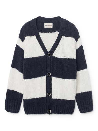 Bobo Choses - Big Stripes Cardigan