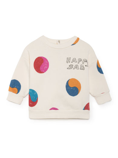 Bobo Choses - Yin Yang Round Neck Sweatshirt