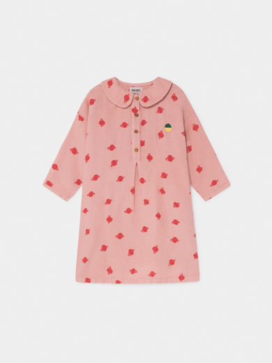 Bobo Choses - All Over Small Saturn Buttons Dress (219090)