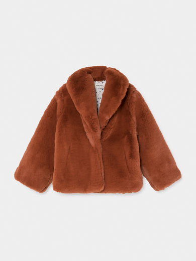 Bobo Choses - Faux Fur Jacket (219095)