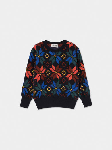 Bobo Choses - Multicolor Jacquard Jumper (219119)