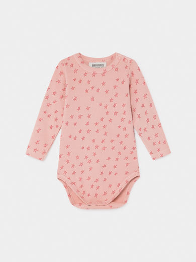 Bobo Choses - All Over Stars Long Sleeve Body, Baby ( 219142)