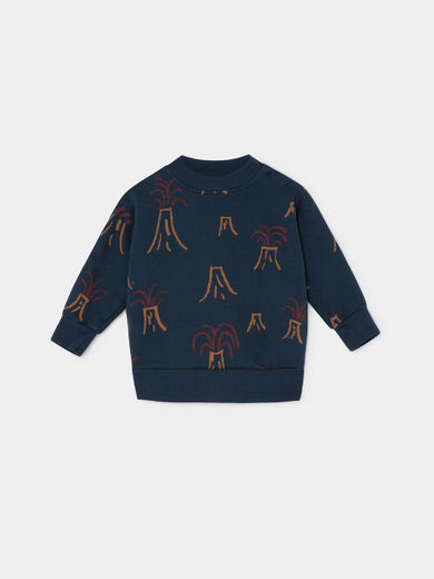 Bobo Choses - All Over Volcano Sweatshirt, Baby ( 219151)