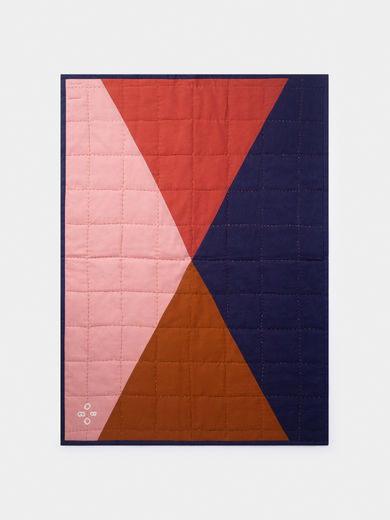 Bobo Choses - Multicolor Quilted Blanket (219276)