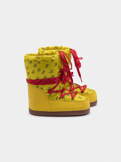 Bobo Choses - Yellow Cosmo Boots (119279)