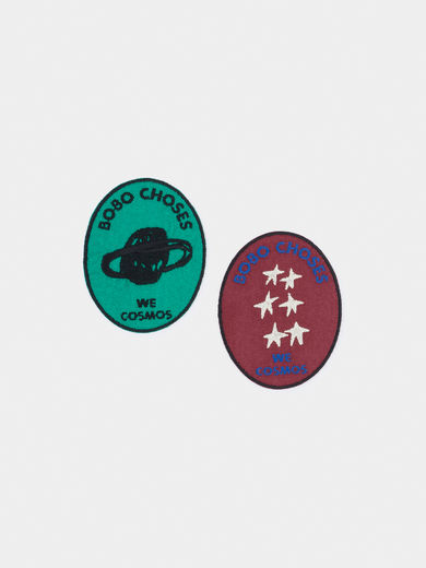 Bobo Choses - We Cosmos Pack of 2 Patch (219281)