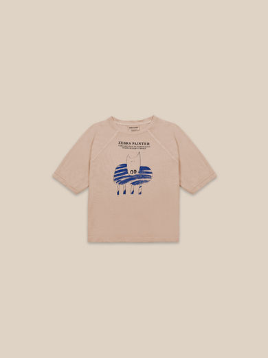Bobo Choses - Zebra Painter T-shirt (22001001)