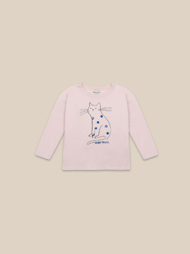 Bobo Choses - Cat Long Sleeve T-shirt (22001014)