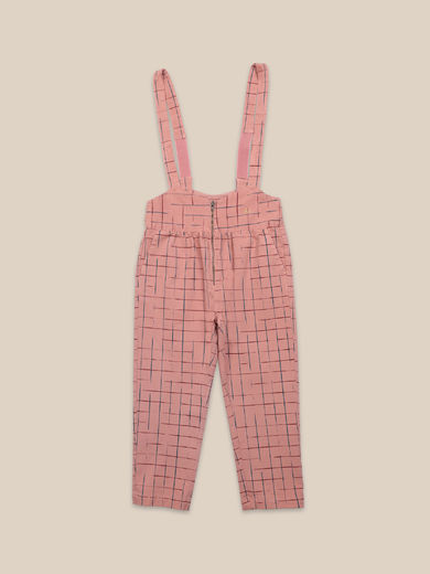 Bobo Choses - Grid Braces Pants (22001097)