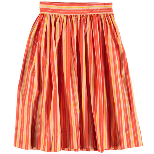 Molo Kids - Brittany skirt, Coral Sunrise Stripe