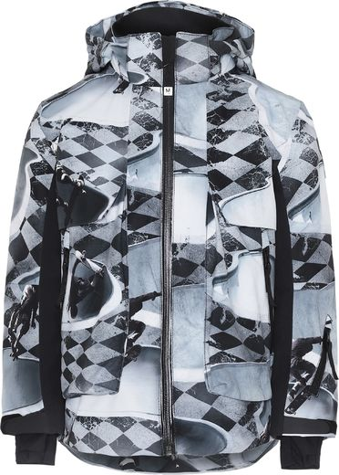 Molo kids - Alpine jacket, Check Pools