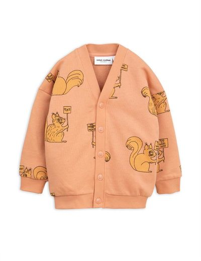 Mini Rodini - Squirrel cardigan, beige