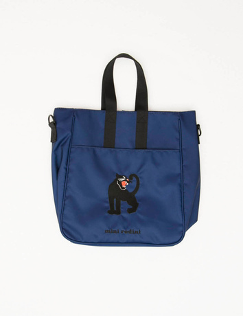 Mini Rodini - Panther gym bag, blue