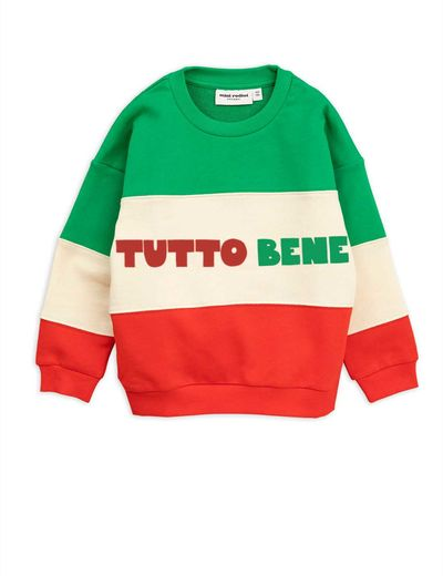 Mini Rodini - Tutto bene sweatshirt, Red