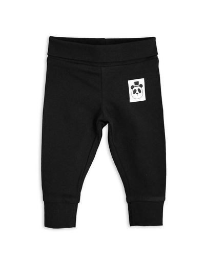 Mini Rodini - Basic  nb leggings, black