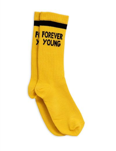 Mini Rodini - Forever young sock, yellow