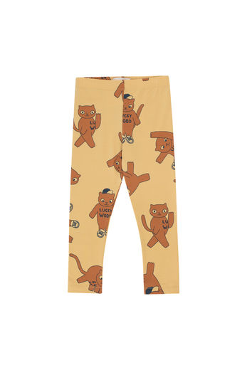 Tinycottons - CATS PANT, sand/brown