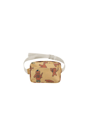 Tinycottons - CATS FANNY BAG , sand/brown