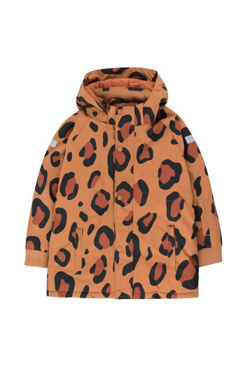 Tinycottons - ANIMAL PRINT SNOW JACKET, brown/dark brown