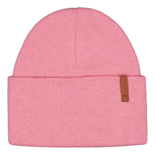 METSOLA - Folded beanie, rosewater