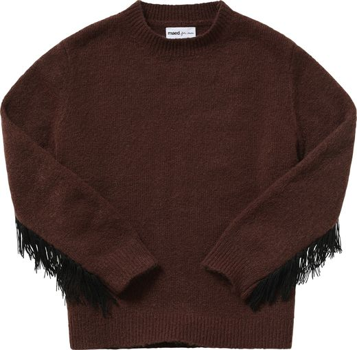Maed for mini - Decadent Dachshund Knit Sweater