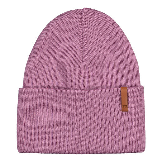METSOLA - Folded beanie, Blueberry milk