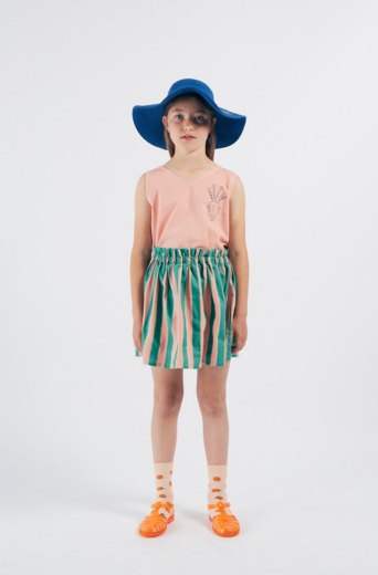 Bobo Choses - Striped Flared Skirt 12001130
