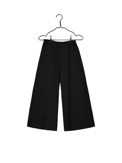 Mainio - Women's slub culottes, Black (13505)
