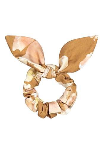 Kaiko - Bow Scrunchie, Marble Meadow Clay