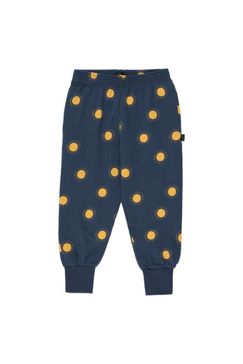 "Tinycottons - ""SUN"" SWEATPANT, light navy/yellow"