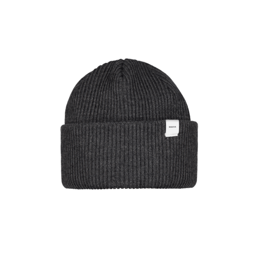 MAKIA - Merino Cap, Dark Grey