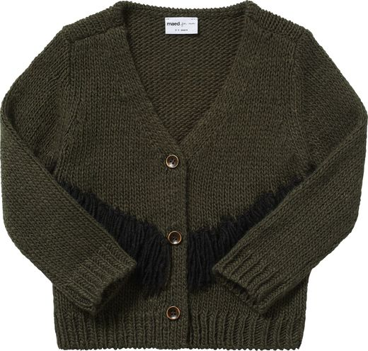 Maed for mini - Tense Turle Knit Cardigan