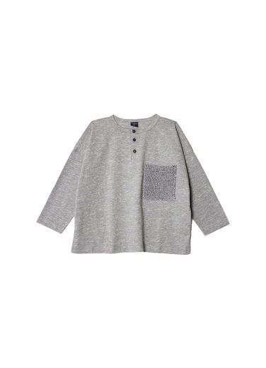 Aarrekid - Oversize shirt w pocket