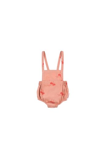 Tinycottons - 'CANDY APPLES' BALLOON ROMPER terracotta/red
