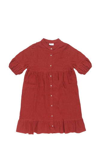 Maed for mini - Bordeaux Badger Dress