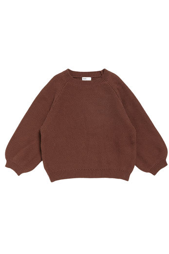 Maed for mini - Busy Bear Knit Sweater