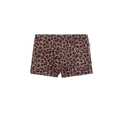Maed for mini - Brown Leopard Swim Shorts Boys (ss2019-65)