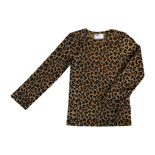 Maed for mini - Brown Leopard LS T-Shirt (ss2019-52)