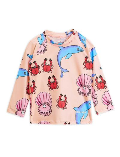 Mini Rodini - Dolphin UV top, multi
