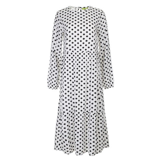 Kiddow - LONG SLEEVE DRESS, POLKA DOT