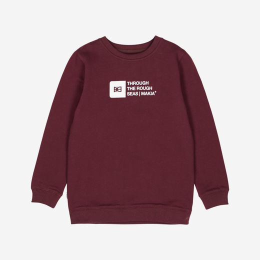 Makia - Flint sweatshirt, port